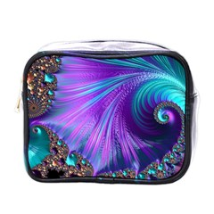 Abstract Fractal Fractal Structures Mini Toiletries Bags