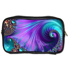 Abstract Fractal Fractal Structures Toiletries Bags 2 Side