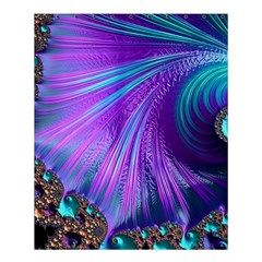 Abstract Fractal Fractal Structures Shower Curtain 60  X 72  (medium)