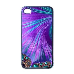 Abstract Fractal Fractal Structures Apple Iphone 4 Case (black)