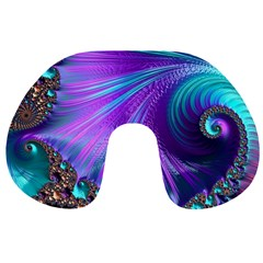 Abstract Fractal Fractal Structures Travel Neck Pillows