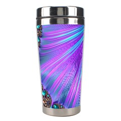 Abstract Fractal Fractal Structures Stainless Steel Travel Tumblers