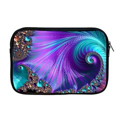 Abstract Fractal Fractal Structures Apple Macbook Pro 17  Zipper Case
