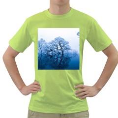 Nature Inspiration Trees Blue Green T Shirt