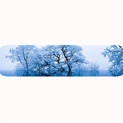 Nature Inspiration Trees Blue Large Bar Mats