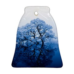 Nature Inspiration Trees Blue Bell Ornament (two Sides)