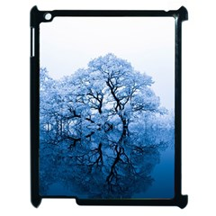 Nature Inspiration Trees Blue Apple Ipad 2 Case (black)