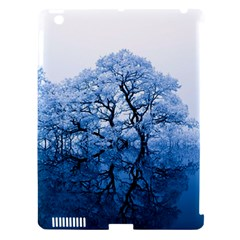 Nature Inspiration Trees Blue Apple Ipad 3/4 Hardshell Case (compatible With Smart Cover)