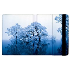 Nature Inspiration Trees Blue Apple Ipad 2 Flip Case