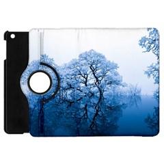 Nature Inspiration Trees Blue Apple Ipad Mini Flip 360 Case