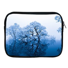 Nature Inspiration Trees Blue Apple Ipad 2/3/4 Zipper Cases by Nexatart