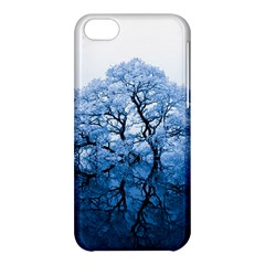 Nature Inspiration Trees Blue Apple Iphone 5c Hardshell Case by Nexatart