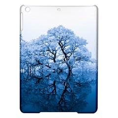 Nature Inspiration Trees Blue Ipad Air Hardshell Cases