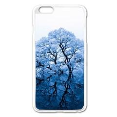 Nature Inspiration Trees Blue Apple Iphone 6 Plus/6s Plus Enamel White Case