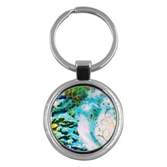 Abstract Art Modern Detail Macro Key Chains (round)
