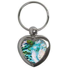 Abstract Art Modern Detail Macro Key Chains (heart)