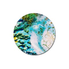 Abstract Art Modern Detail Macro Magnet 3  (round)