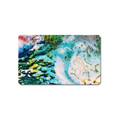 Abstract Art Modern Detail Macro Magnet (name Card)