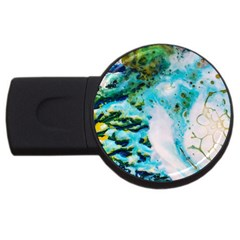 Abstract Art Modern Detail Macro Usb Flash Drive Round (2 Gb)