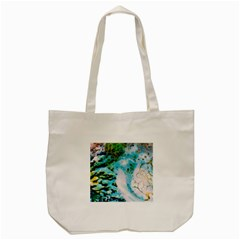 Abstract Art Modern Detail Macro Tote Bag (cream)