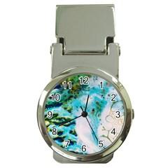 Abstract Art Modern Detail Macro Money Clip Watches