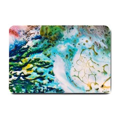 Abstract Art Modern Detail Macro Small Doormat