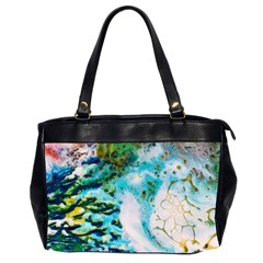 Abstract Art Modern Detail Macro Office Handbags (2 Sides)