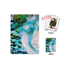 Abstract Art Modern Detail Macro Playing Cards (mini)