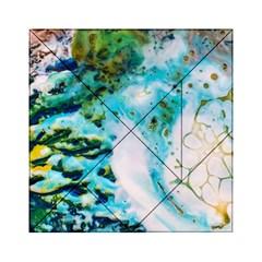Abstract Art Modern Detail Macro Acrylic Tangram Puzzle (6  X 6 )
