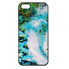 Abstract Art Modern Detail Macro Apple Iphone 5 Seamless Case (black)