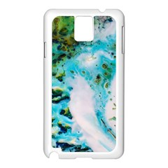 Abstract Art Modern Detail Macro Samsung Galaxy Note 3 N9005 Case (white)