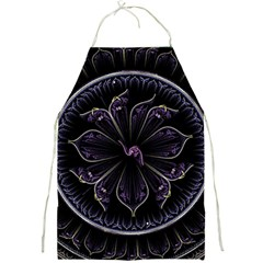 Fractal Abstract Purple Majesty Full Print Aprons