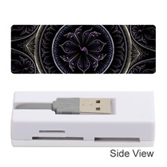 Fractal Abstract Purple Majesty Memory Card Reader (stick)