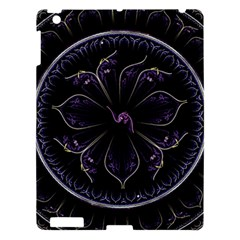 Fractal Abstract Purple Majesty Apple Ipad 3/4 Hardshell Case