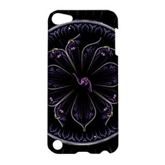Fractal Abstract Purple Majesty Apple Ipod Touch 5 Hardshell Case