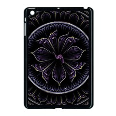 Fractal Abstract Purple Majesty Apple Ipad Mini Case (black)