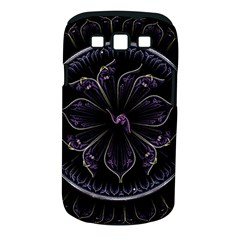 Fractal Abstract Purple Majesty Samsung Galaxy S Iii Classic Hardshell Case (pc+silicone)