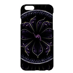 Fractal Abstract Purple Majesty Apple Iphone 6 Plus/6s Plus Hardshell Case