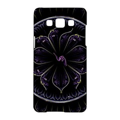 Fractal Abstract Purple Majesty Samsung Galaxy A5 Hardshell Case