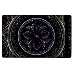 Fractal Abstract Purple Majesty Apple Ipad Pro 9 7   Flip Case by Nexatart
