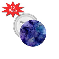 Ink Background Swirl Blue Purple 1 75  Buttons (10 Pack)