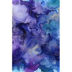 Ink Background Swirl Blue Purple 5 5  X 8 5  Notebooks