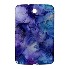 Ink Background Swirl Blue Purple Samsung Galaxy Note 8 0 N5100 Hardshell Case