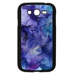 Ink Background Swirl Blue Purple Samsung Galaxy Grand Duos I9082 Case (black)