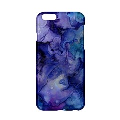 Ink Background Swirl Blue Purple Apple Iphone 6/6s Hardshell Case