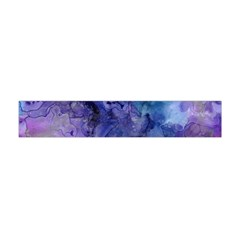 Ink Background Swirl Blue Purple Flano Scarf (mini)