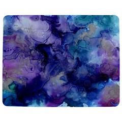 Ink Background Swirl Blue Purple Jigsaw Puzzle Photo Stand (rectangular)