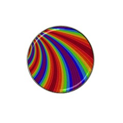 Abstract Pattern Lines Wave Hat Clip Ball Marker (10 Pack)
