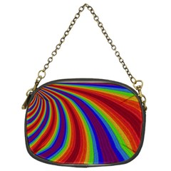 Abstract Pattern Lines Wave Chain Purses (two Sides)
