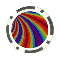 Abstract Pattern Lines Wave Poker Chip Card Guard (10 Pack)